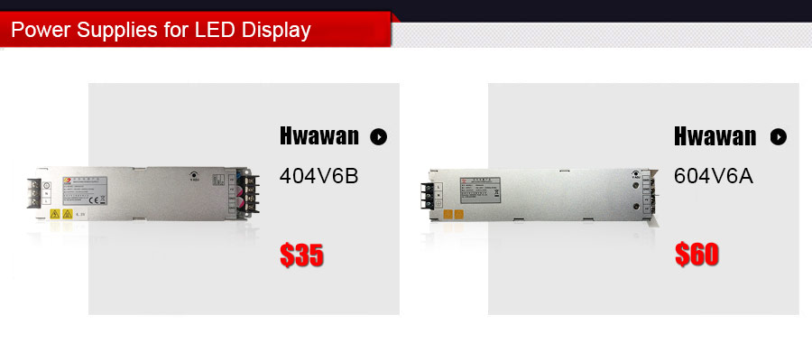 MEANWell  Power Supplies for LED Display Screens