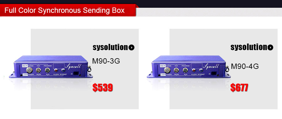 Sysolution Full Color Synchronous Sending Box