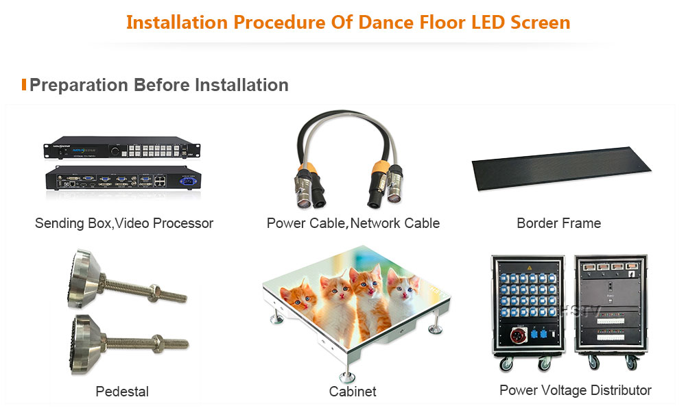 OptoKingdom PH4.81 Outdoor SMD Dance Floor LED Screen