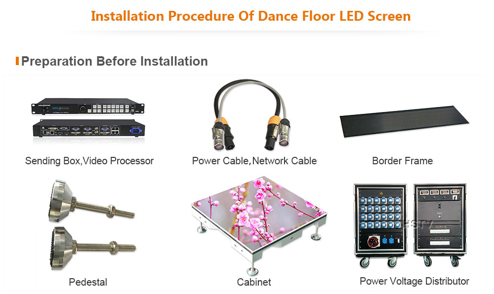 OptoKingdom PH5.95 Outdoor SMD Dance Floor LED Screen