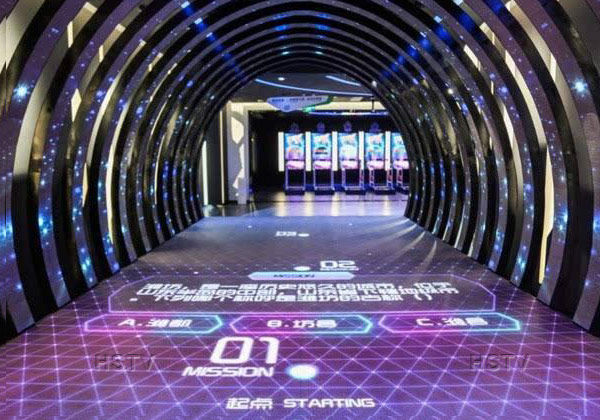 PH6.25 Indoor Full Color Intelligent Interaction Dance Floor Led Screen