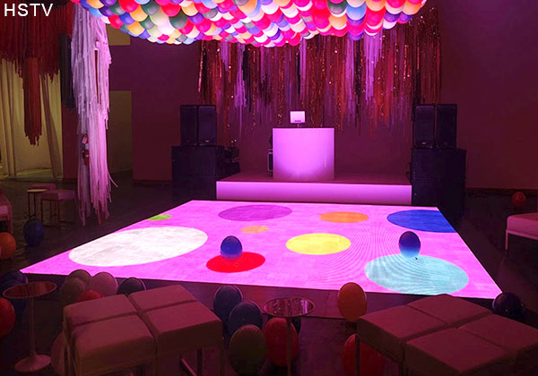 PH3.91 indoor led dance floor