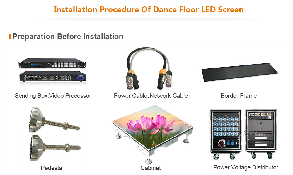 OptoKingdom PH3.91 Indoor SMD Dance Floor LED Screen