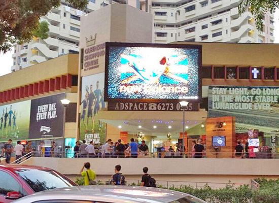 outdoor smd led displays