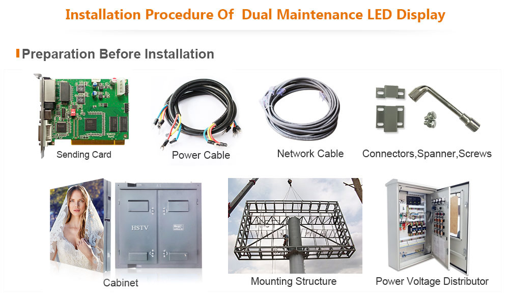 PH10 Outdoor SMD Dual Maintenance LED Display