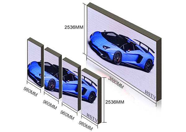 large LED Screen for indoor