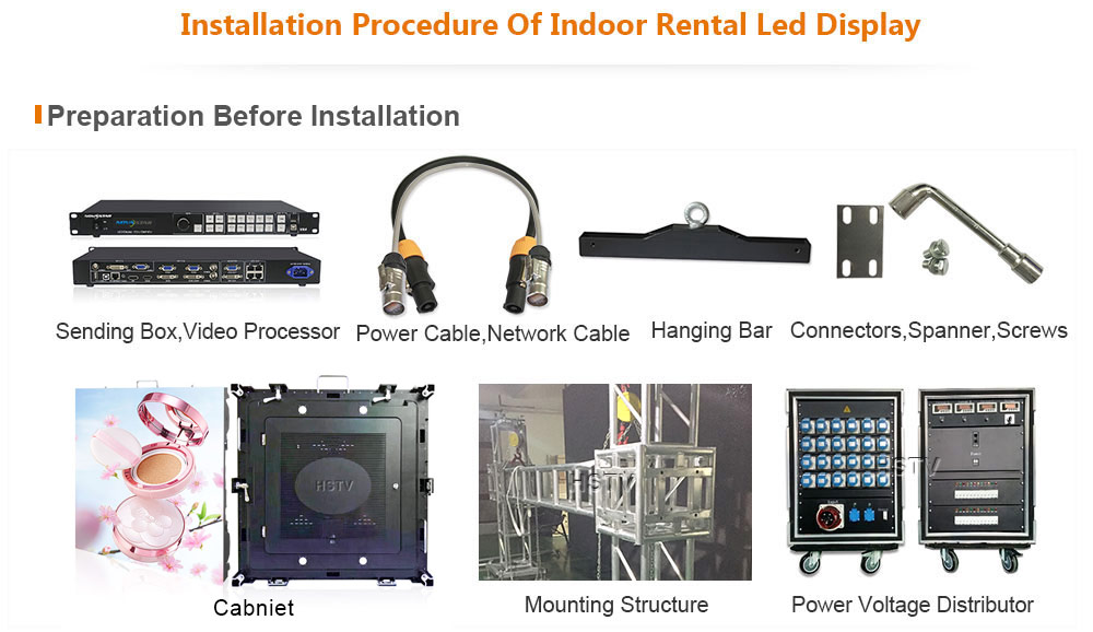 PH2.5 Indoor Rental LED Display