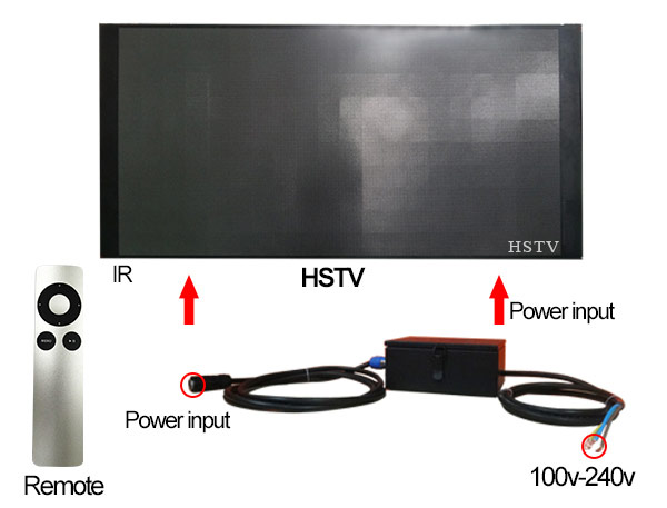 digital advertising led tv display