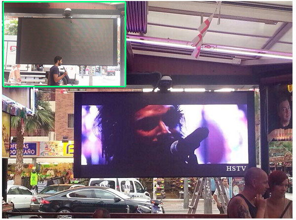 indoor advertising led tv display factory