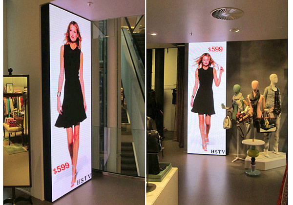 Showcase LED Screen