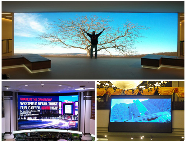 indoor digital advertising led tv display panel