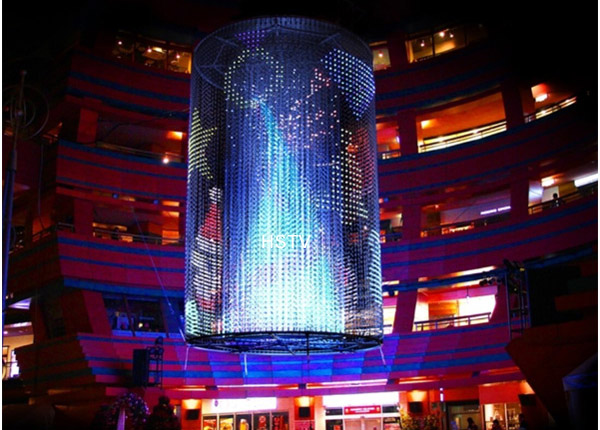 LED mesh screen
