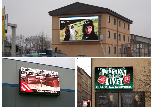 PH16 outdoor led advertising displays