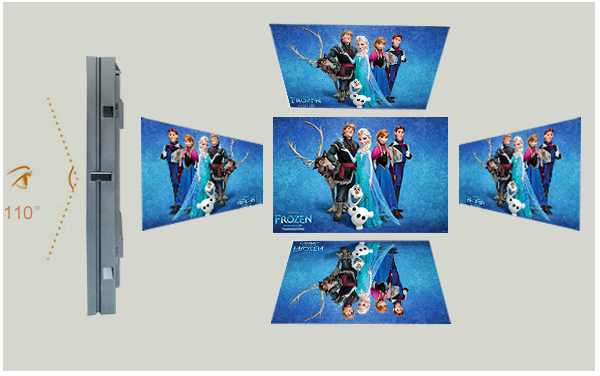 outdoor advertising led tv display