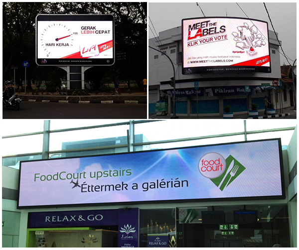 PH5 outdoor led display