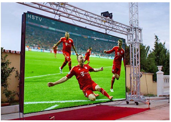 high quality rental led screen