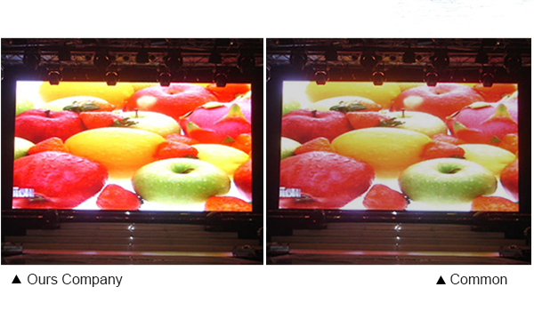 outdoor rental led display module