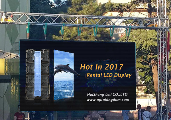 PH6.67 Outdoor Rental 1/7 Scan LED Screen