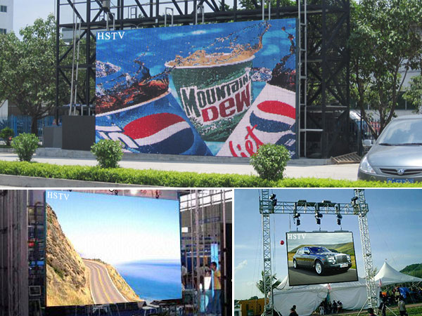 outdoor electronic led display