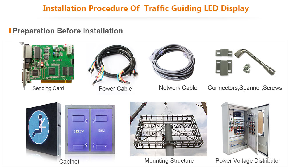 PH10 Traffic Guiding LED Display
