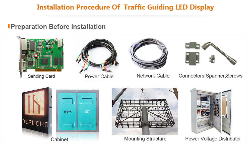 P20 Traffic Guiding LED Display