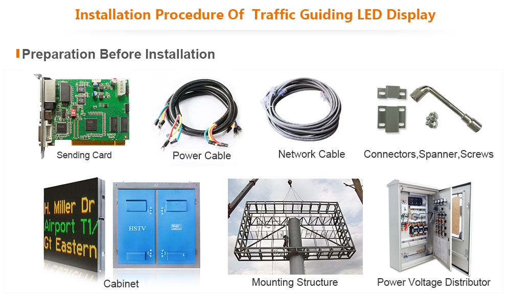 P25 Traffic Guiding LED Display