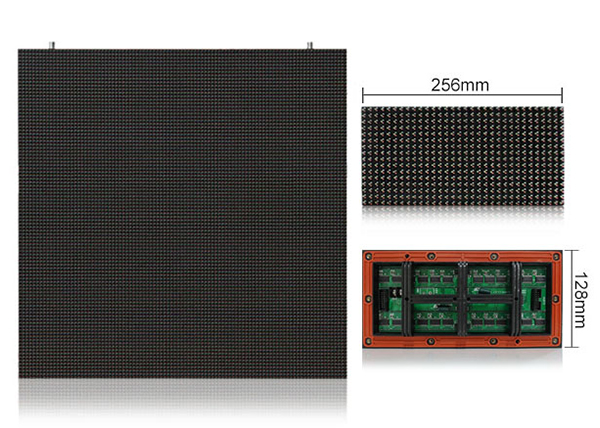 ph8 largest led screen