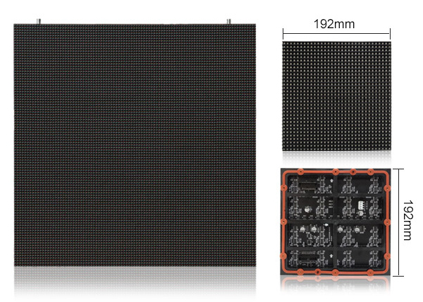 PH6 truck led video display