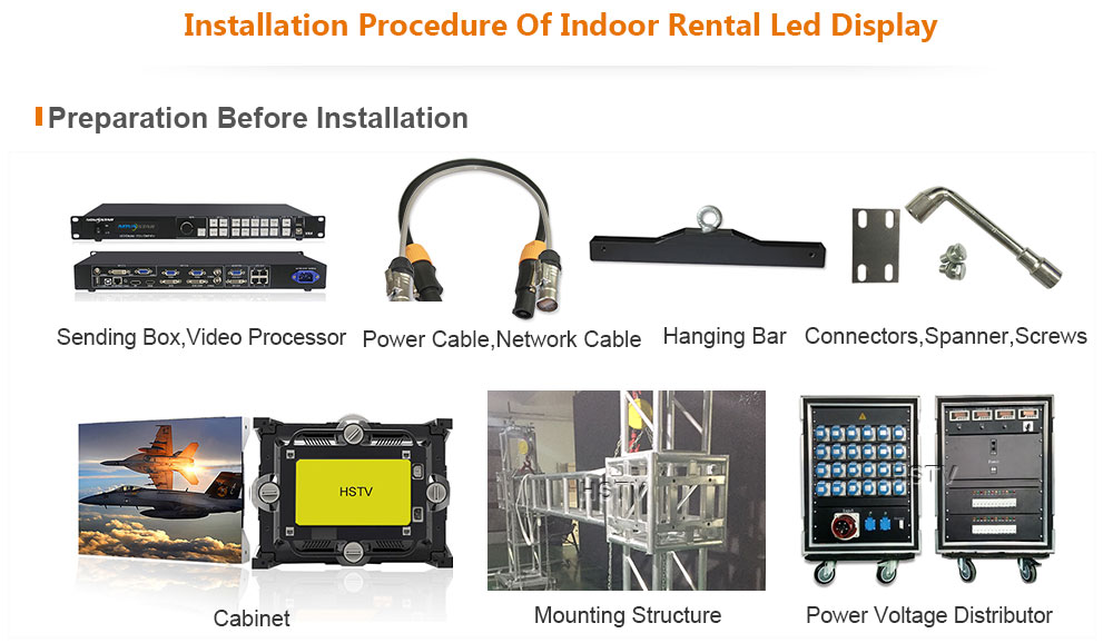 OptoKingdom OptoKingdom Installation procedure of Indoor Rental led screen