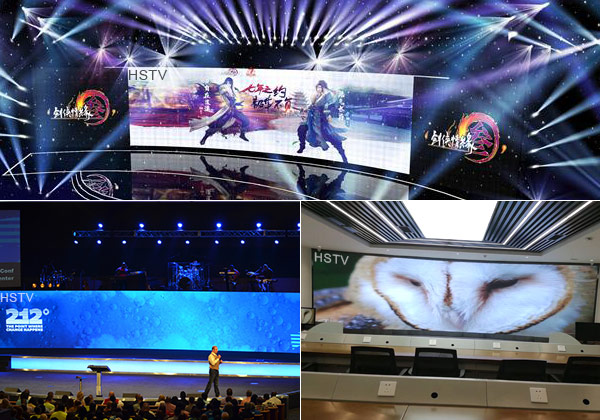PH3.91mm Indoor full color curve led screen