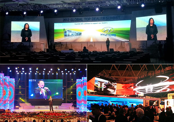 PH5.21 indoor advertising led display Application