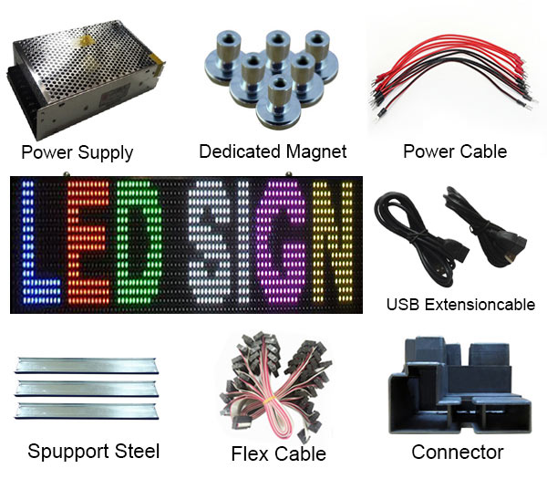high quality LED sign panel