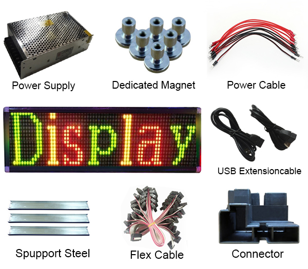 LED Sign Triple Color
