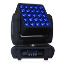 25 Pcs LED Moving Head Matrix Light