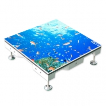 PH5.95 Outdoor SMD Dance Floor LED Screen 500×500mm