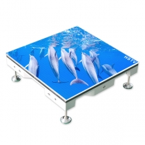 PH3.91 Indoor SMD Dance Floor LED Screen 500×500mm