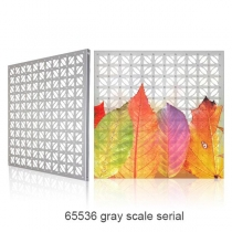 PH60 Outdoor Decorative Aluminum Led Curtain Screen(65536 gray scale serial) 600×600mm