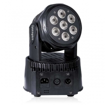 7PCS 4in1 LED Moving Head Light