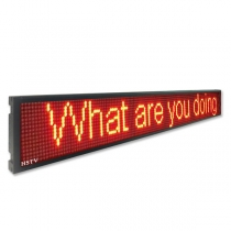 PH10 Bus led display sign 1576×187×45mm