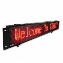PH7.62 Bus led display sign 1024×294×52mm