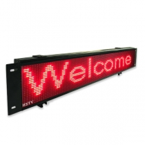 PH7.62 Bus led display sign 1510×294×52mm