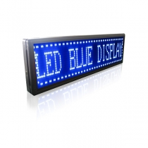 PH10 Semi-outdoor S-blue LED Sign1330×370mm