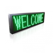PH10 Semi-outdoor S-green LED Sign1330×370mm