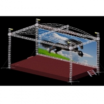 Mobile stage project solution A