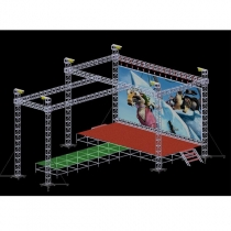Mobile stage project solution C