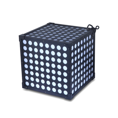 LED colorful magic cube and hexahedral cube 310×310mm