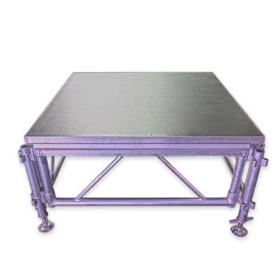 1.22*1.22m aluminum mobile assemble stage
