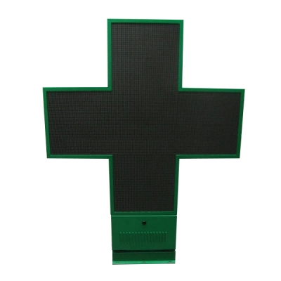 PH6 LED cross outdoor double sides full color 1180×820×100mm