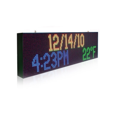 PH13.33 Outdoor DIP Full Color LED Sign 2560×480mm