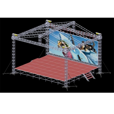 Mobile stage project solution B